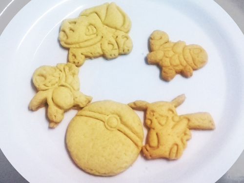 Cortador Pokemon (5 peças)