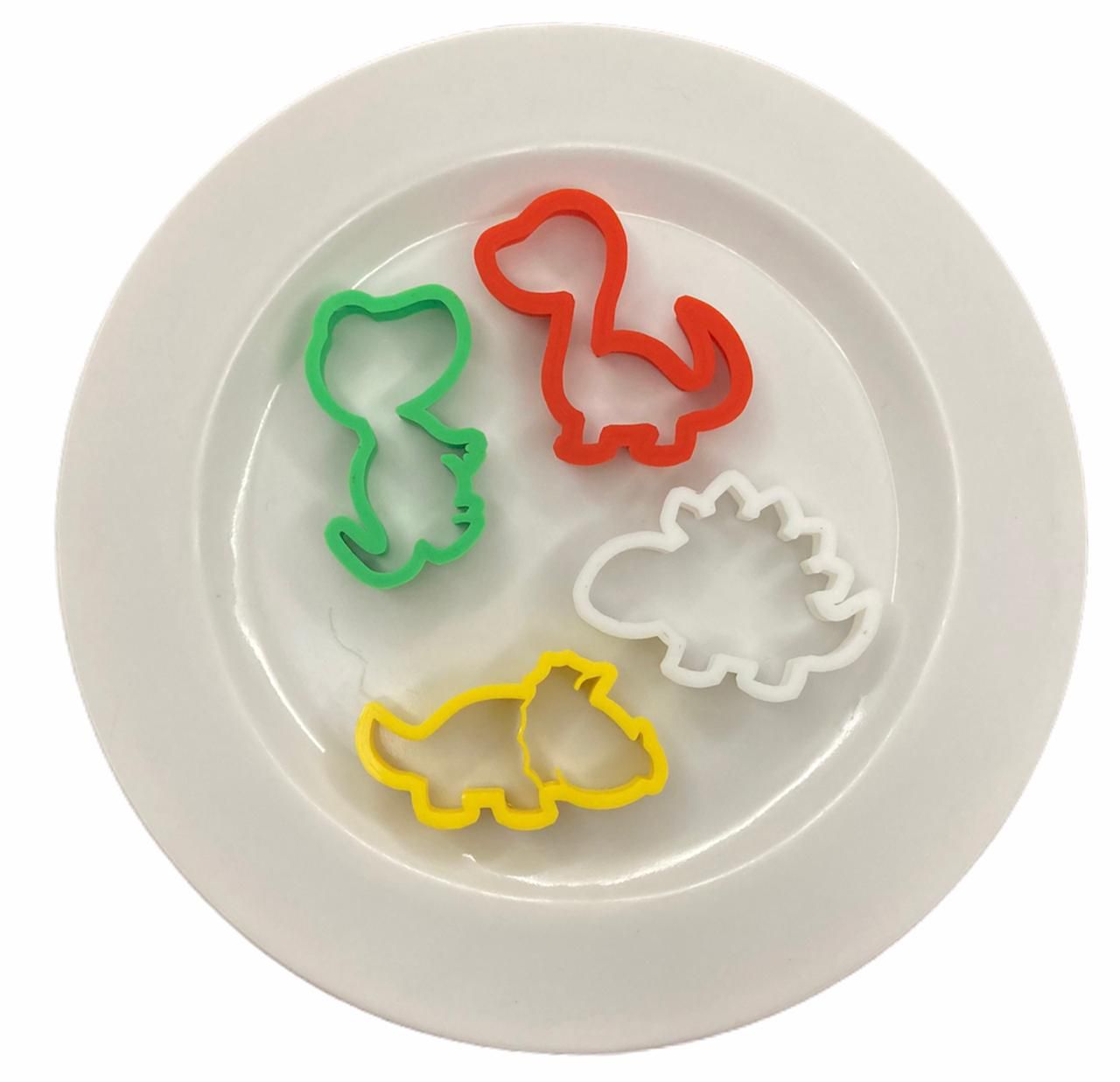 Cortador Dinossauro - pequeno (4 peças)