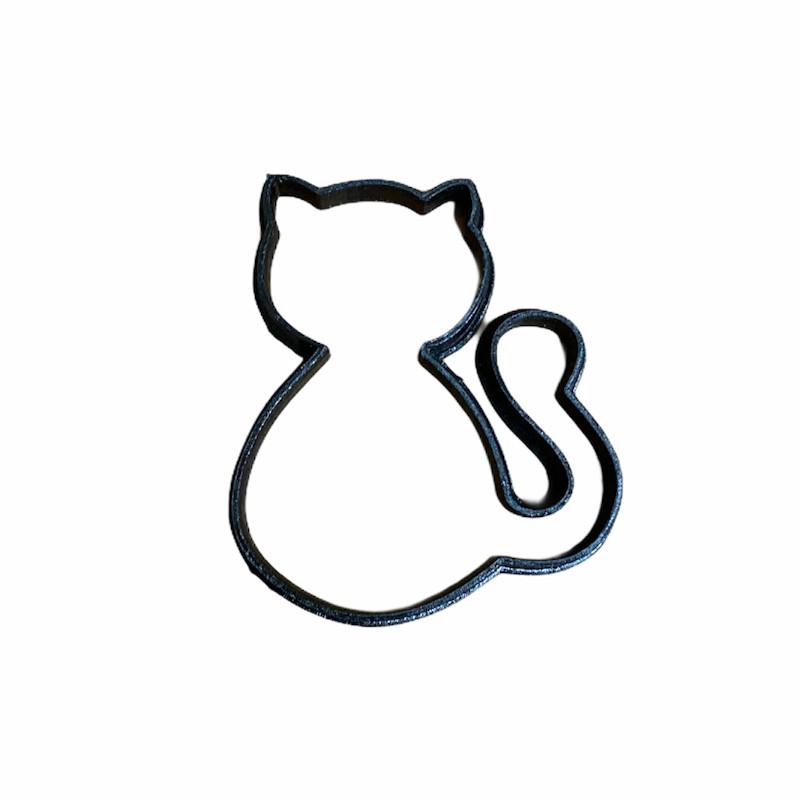 Cortador Gato (3 peças)