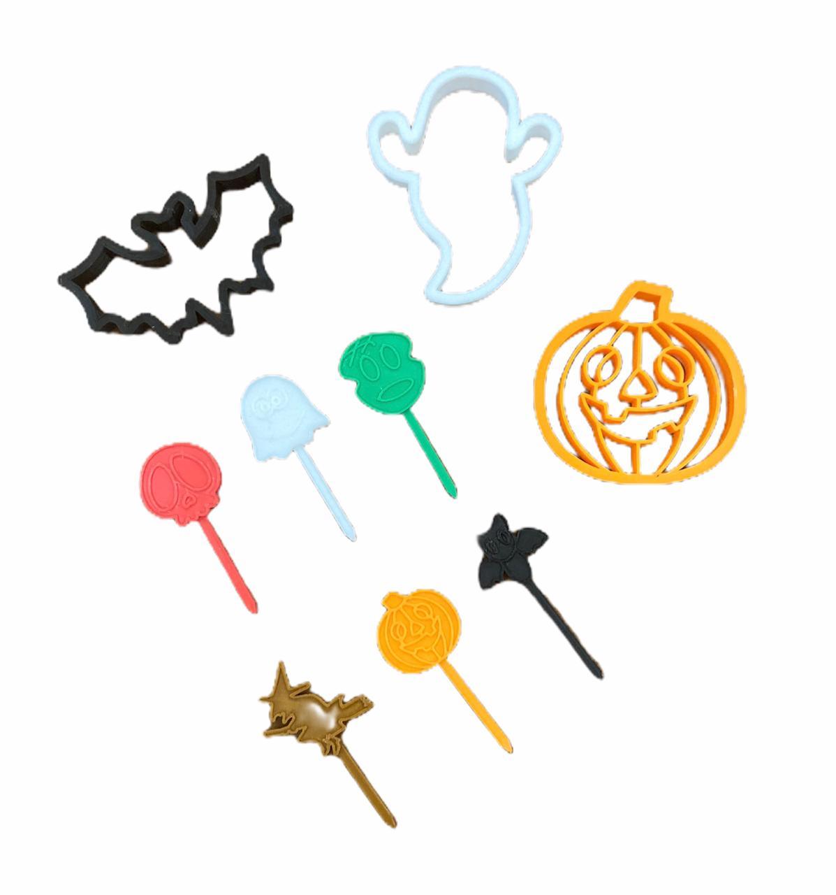 Cortador Halloween (3 peças)