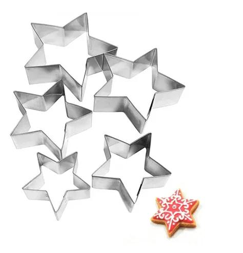 Cortador Inox Estrela (5 peças)