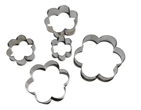 Cortador Inox Flor (5 peças)