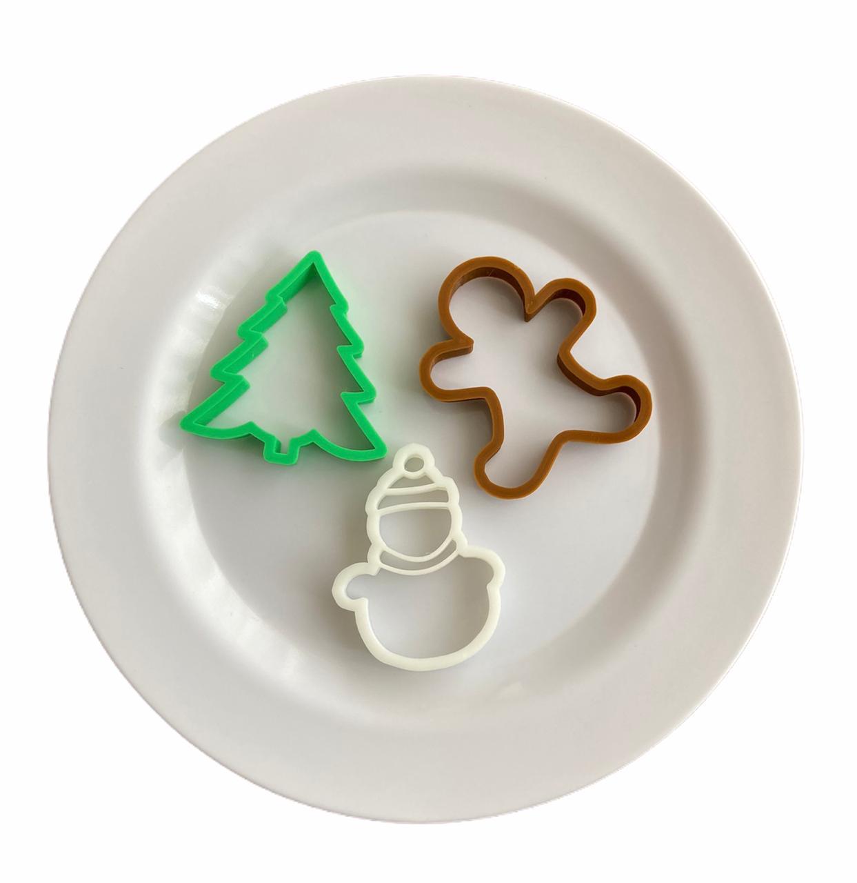 Cortador Natal (3 peças)