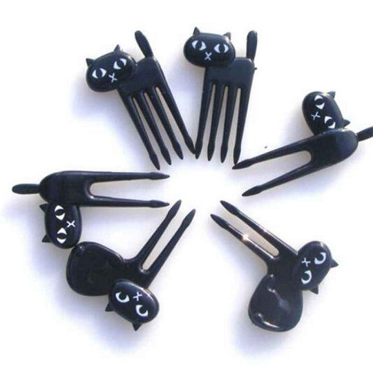 Garfinhos Gato - 6 unidades