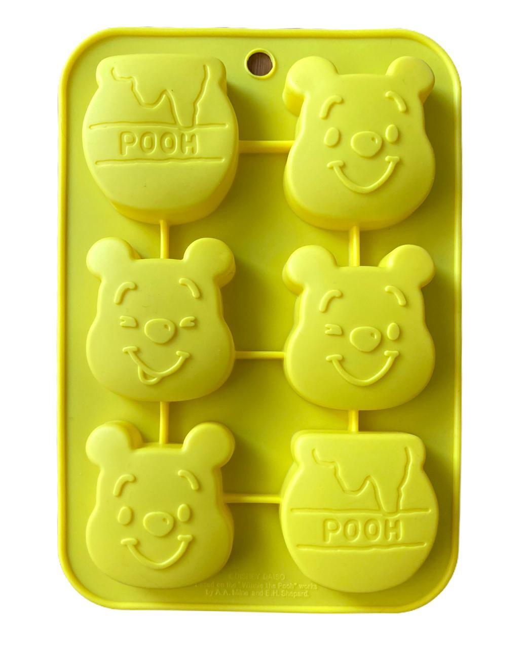 Forma de Silicone Ursinho Pooh
