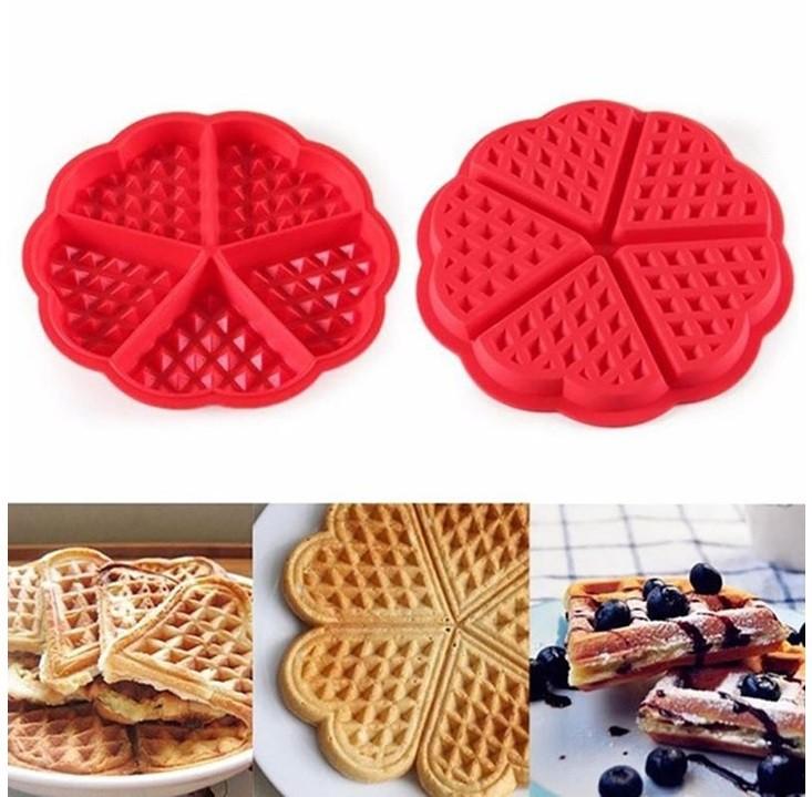 Forma Waffles Coração