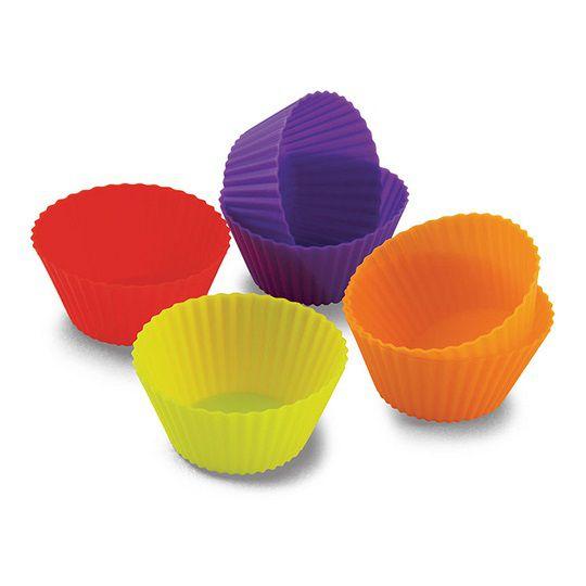 Forminhas de Silicone Cupcake (6 peças)