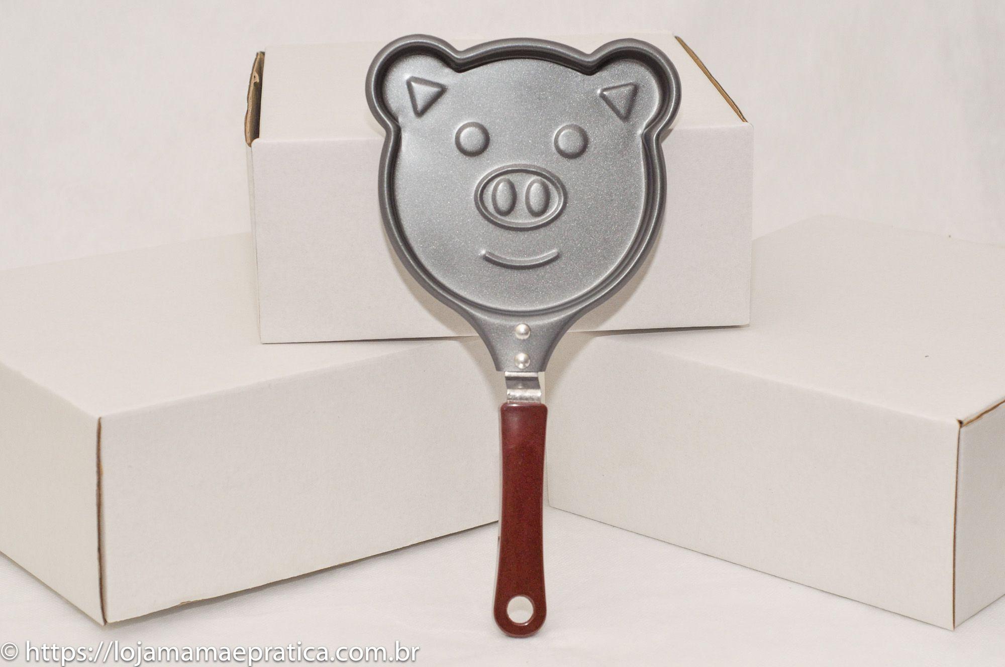Frigideira antiaderente - porquinho