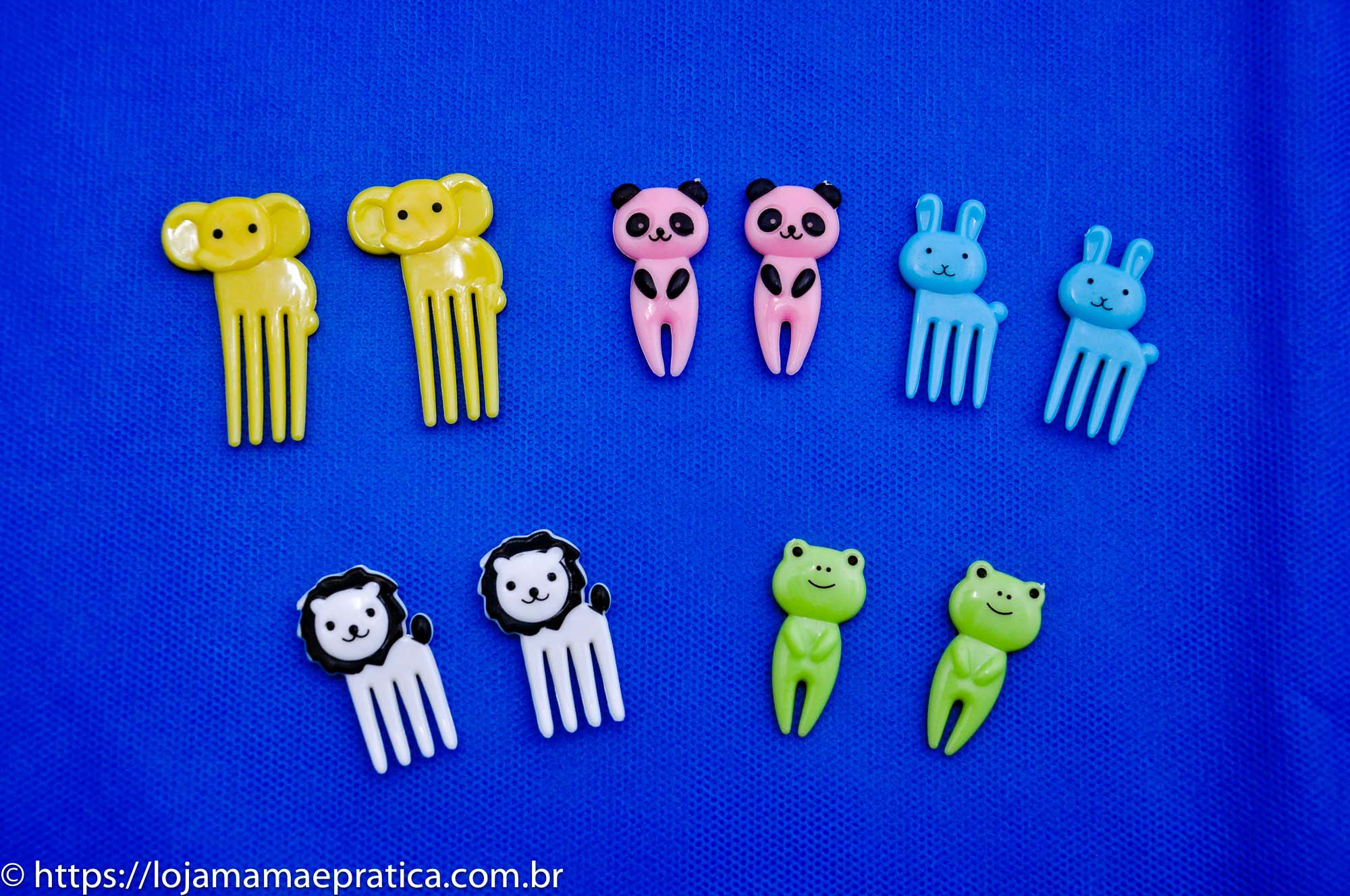 Mini Garfinhos Animais - 10 unidades
