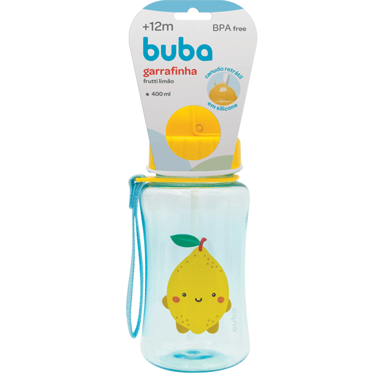 Garrafa Frutti Limão - 400 ml
