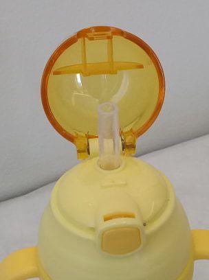 Garrafa infantil c/ alça e canudo Menino - 450 ml