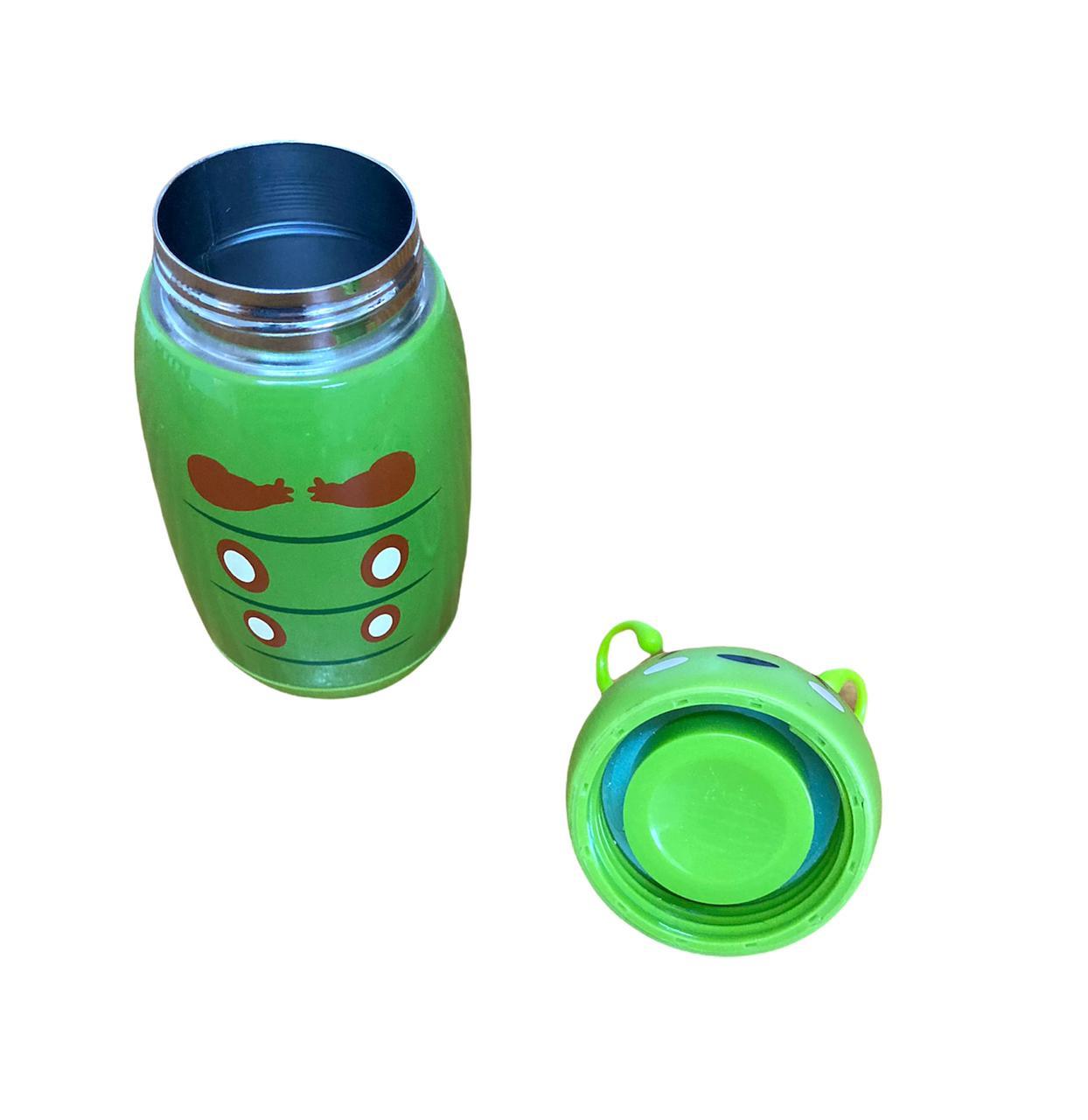 Garrafa Inox Bichinho Verde - 220 ml