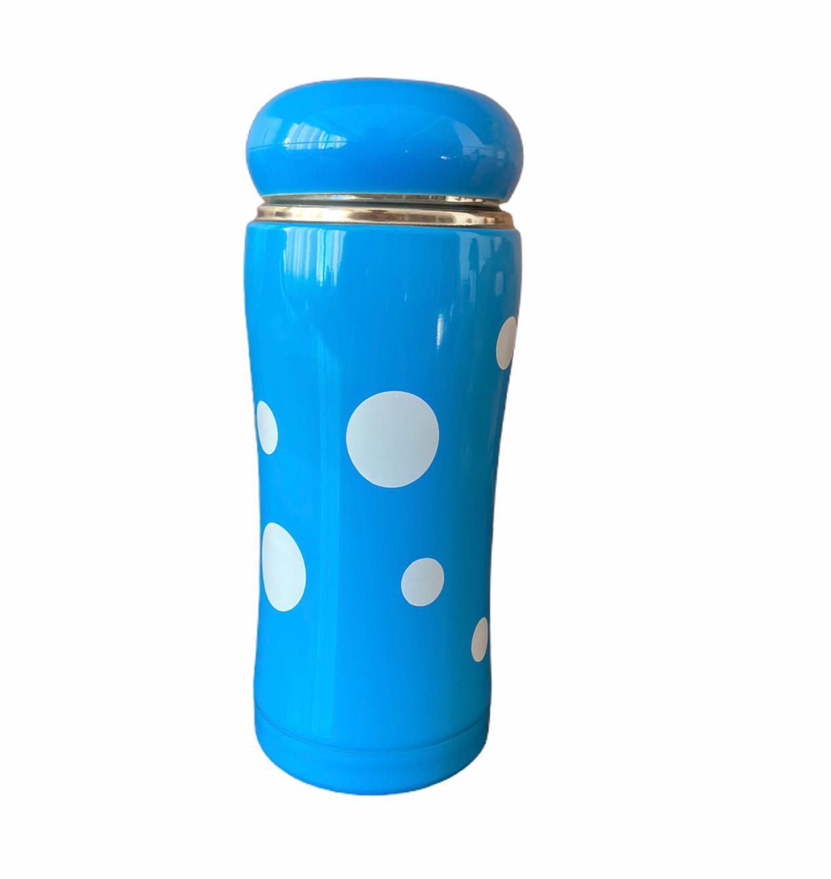 Garrafa térmica Azul Bolinhas - 300 ml