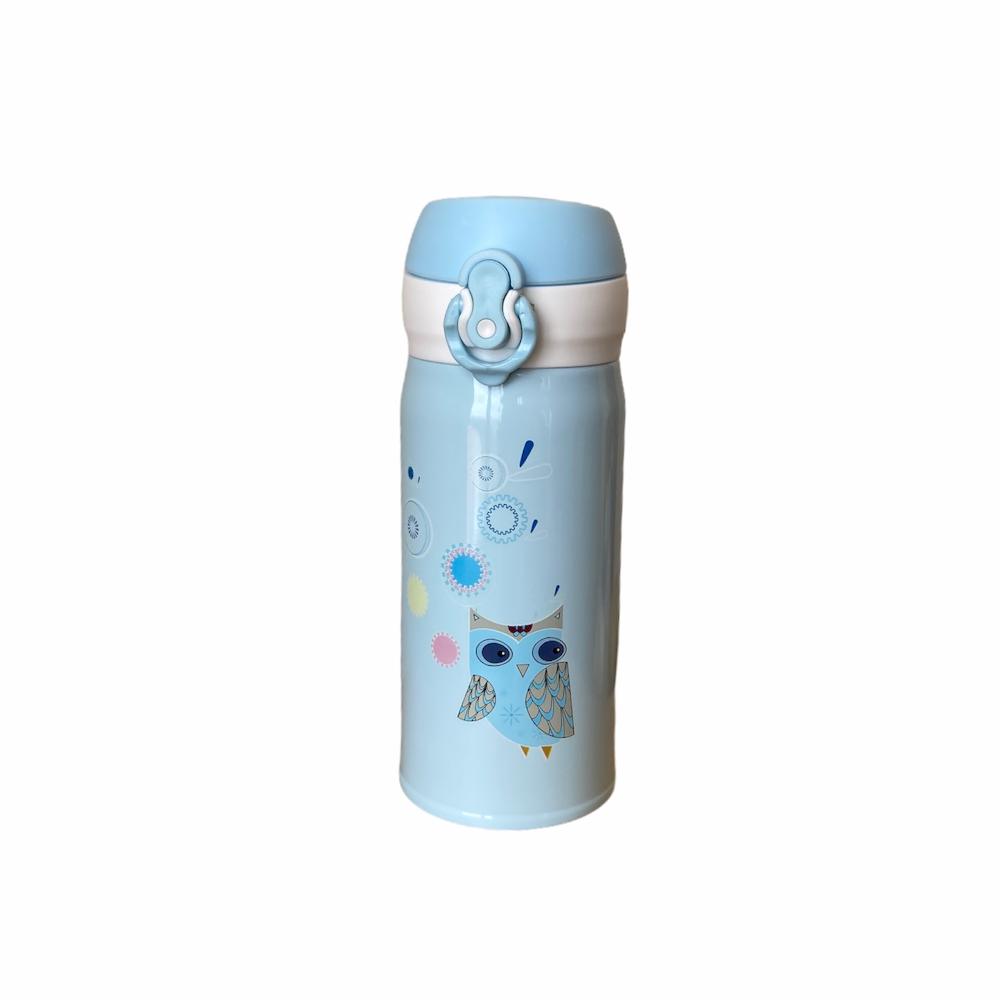 Garrafa Térmica Coruja Azul - 350 ml
