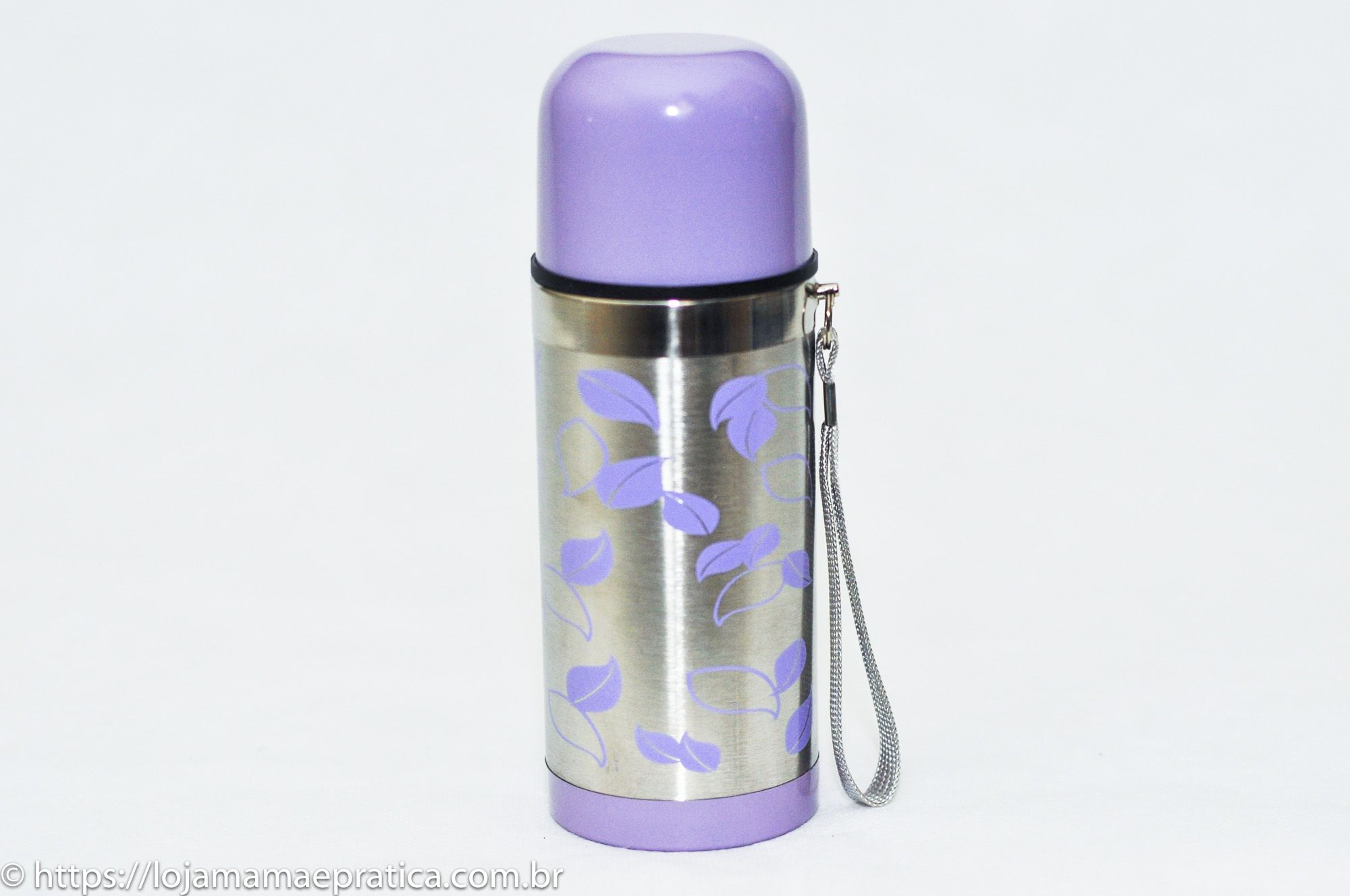 Garrafa térmica de inox - 200 ml