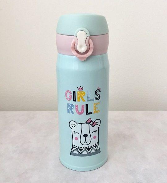 Garrafa térmica de inox Girls - 350 ml