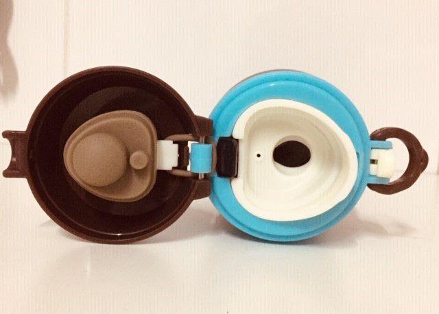 Garrafa térmica de inox Leão - 350 ml
