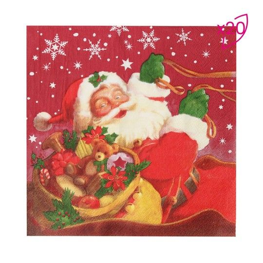Guardanapo Papai Noel