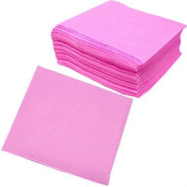 Guardanapos de papel coloridos (rosa, azul ou amarelo)