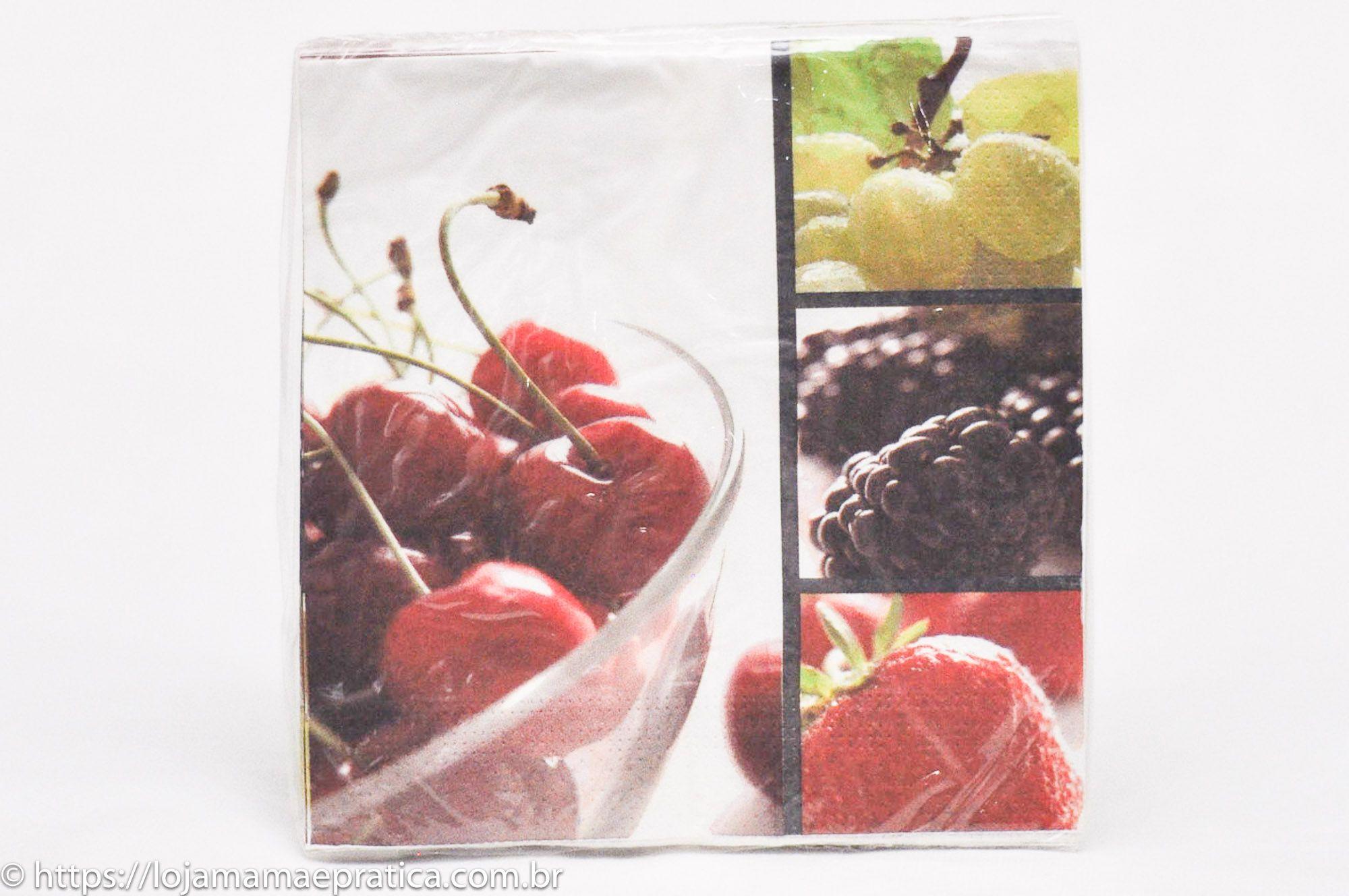 Guardanapos Estampados - Floral e Frutas