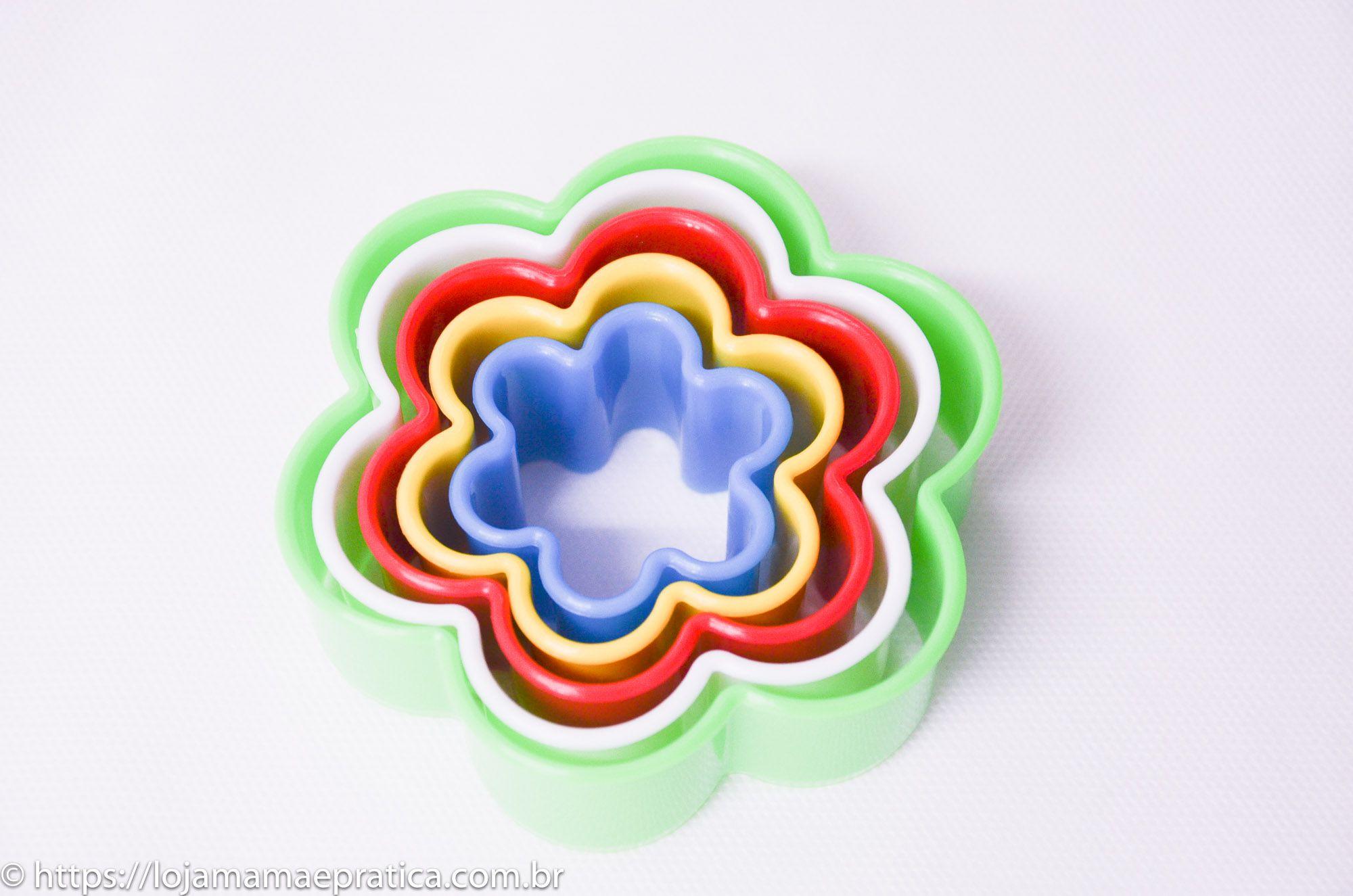 Cortador Flor (5 peças)