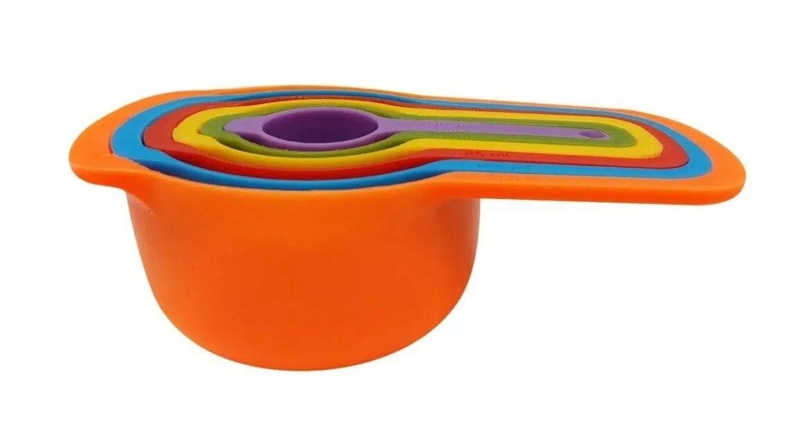 Jogo de medidores coloridos - 06 peças