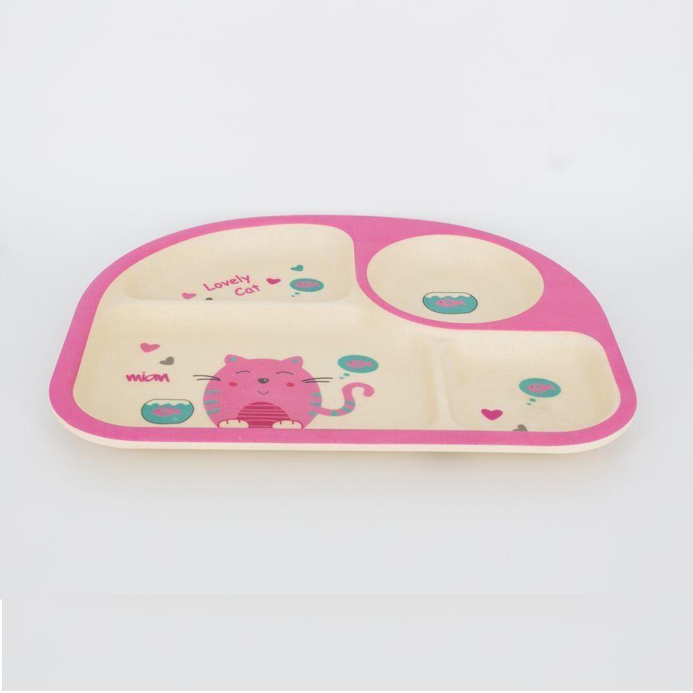 Kit Alimentação Infantil Bambu - 5 peças