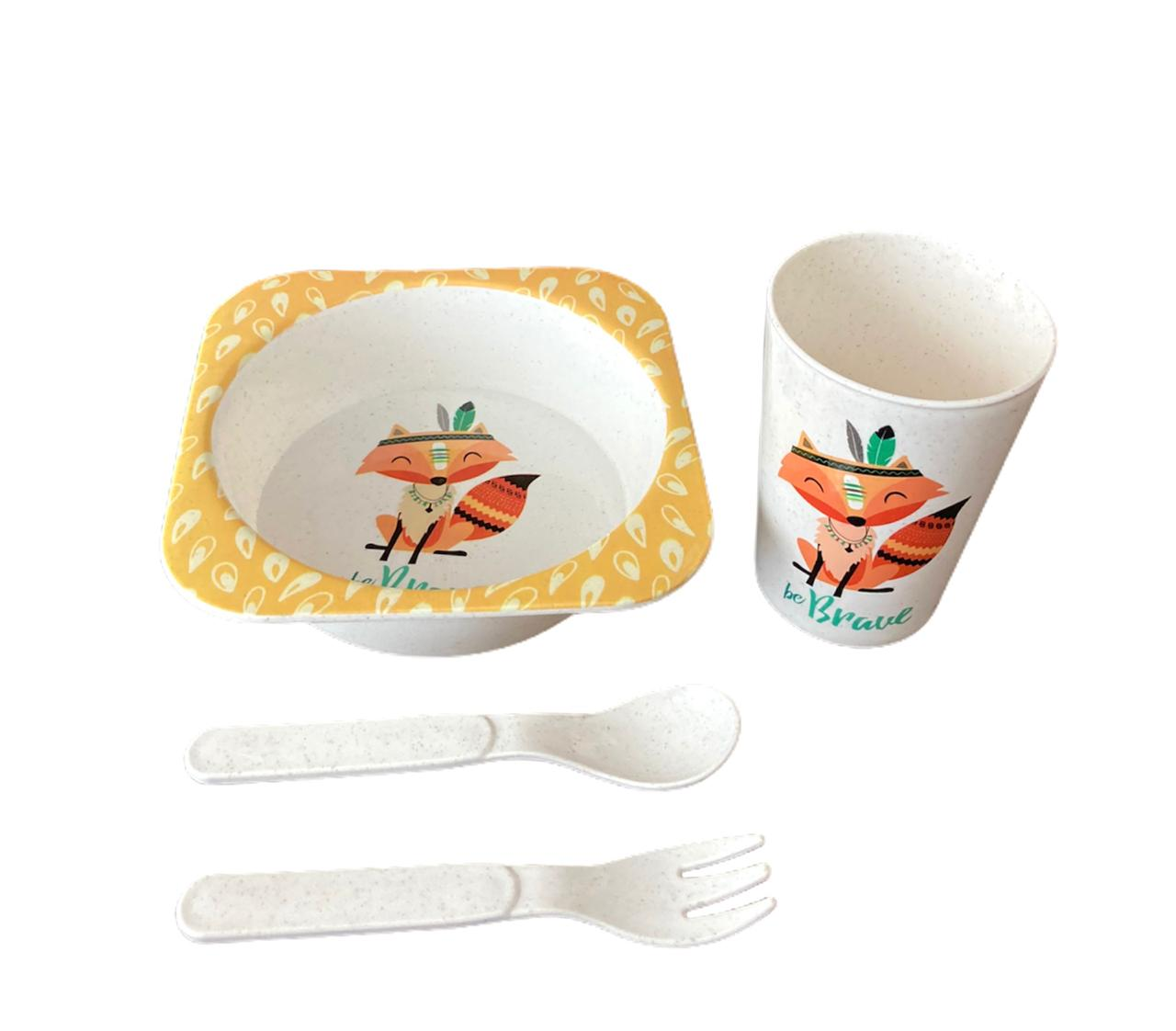 Kit Alimentação Raposa - 4 peças