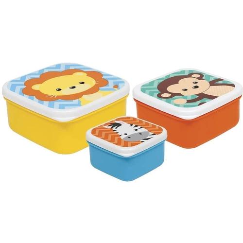 Kit Animal Fun 3 potinhos