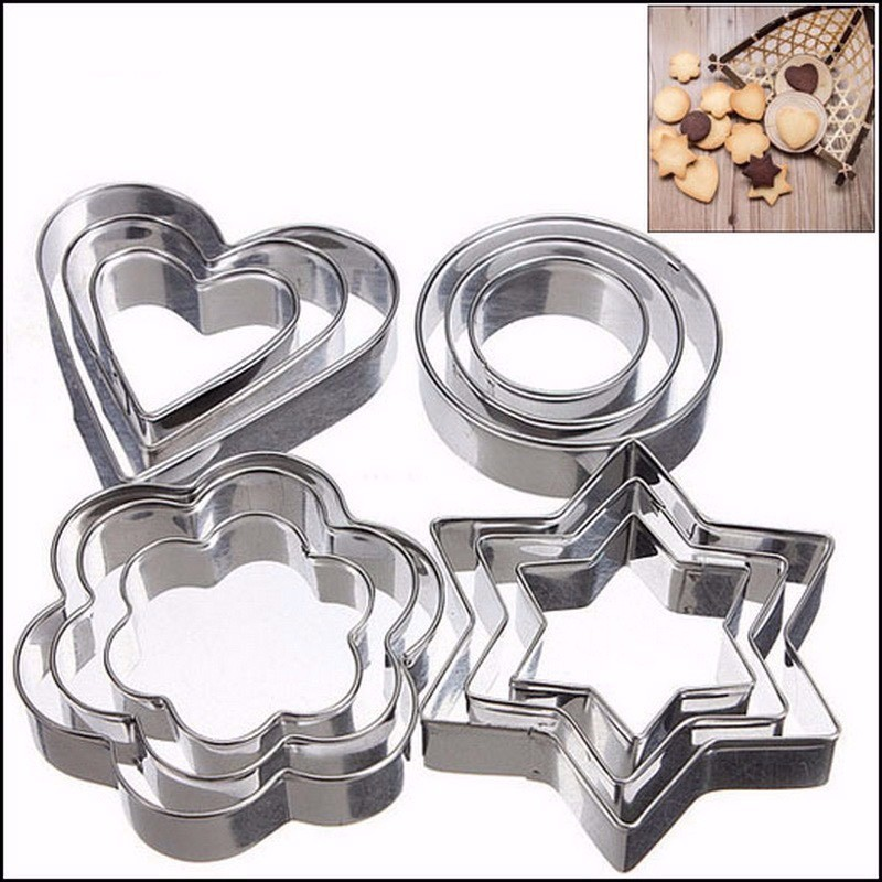 Kit cortadores de inox - 12 peças
