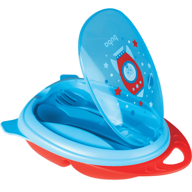 Kit Refeição Foguete Azul