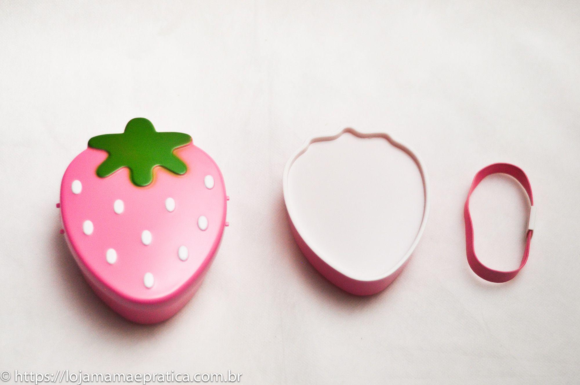 Lancheira moranguinho (rosa)