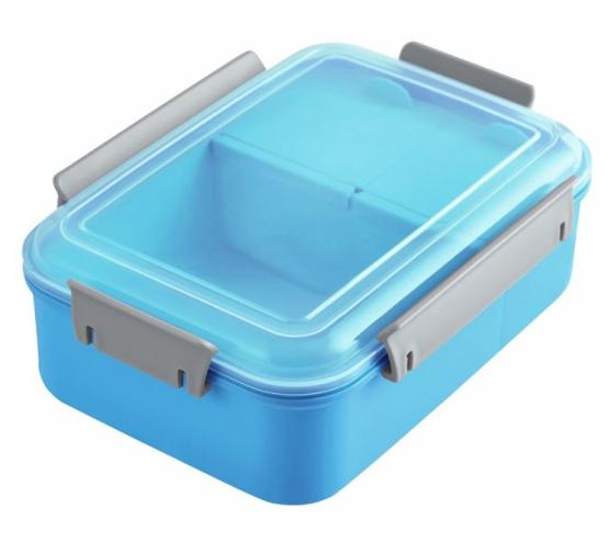 Lancheira/marmita com três compartimentos - 1200 ml