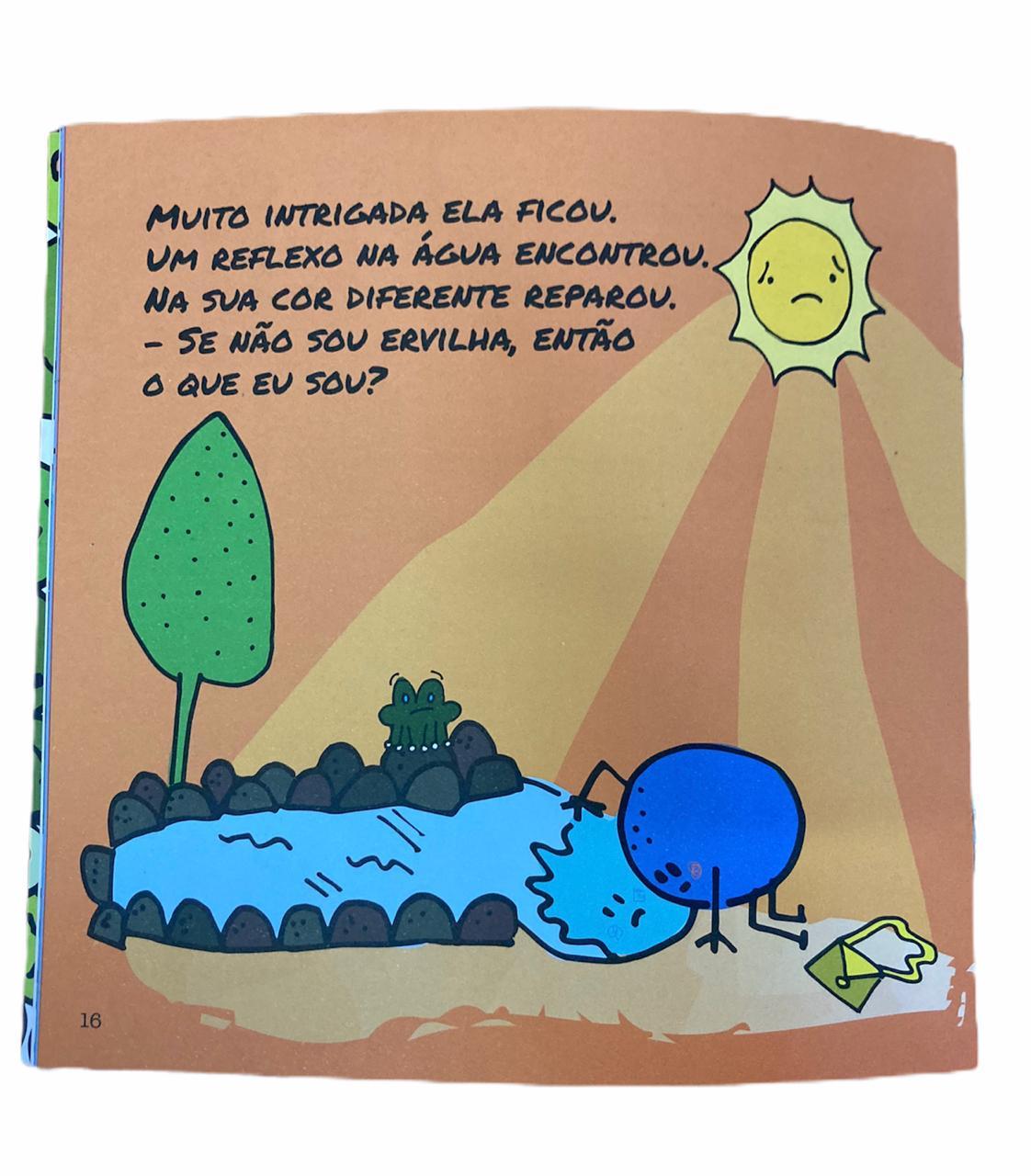 Livro A História da Ervilha Azul