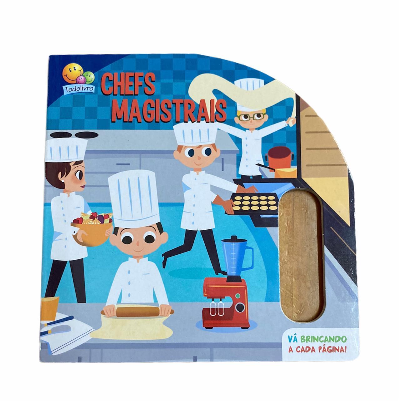 Livro Infantil Chefs Magistrais