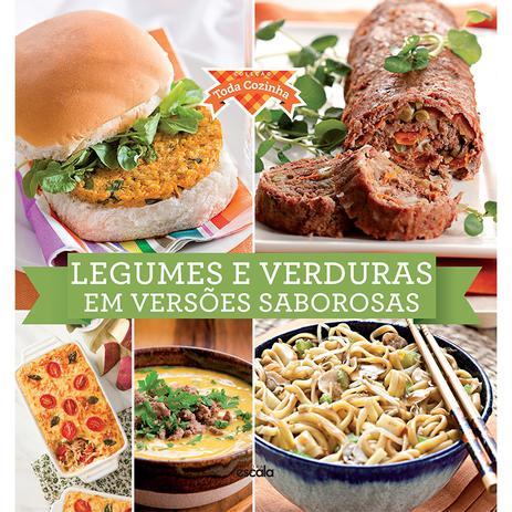 Livro Legumes e Verduras em Versões Saborosas