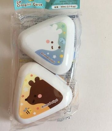 Mini potinhos para lanche - ursinho