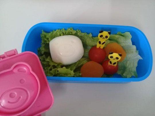Molde ovo cozido e arroz - urso