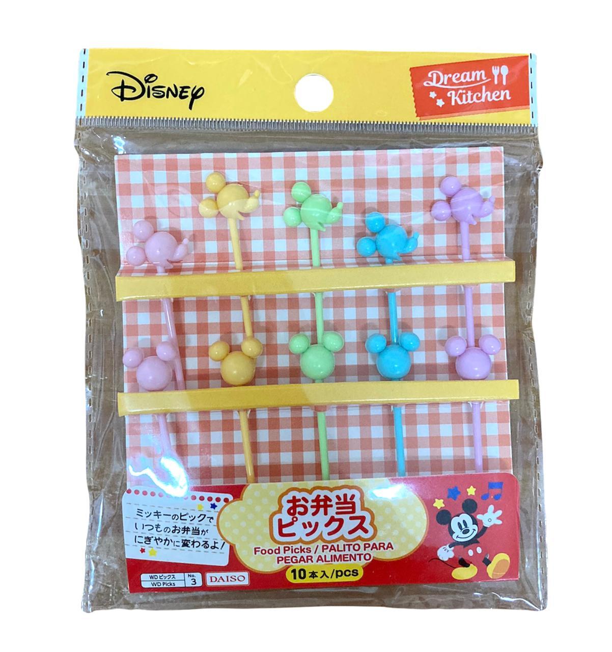 Palitinhos Mickey - 10 unidades