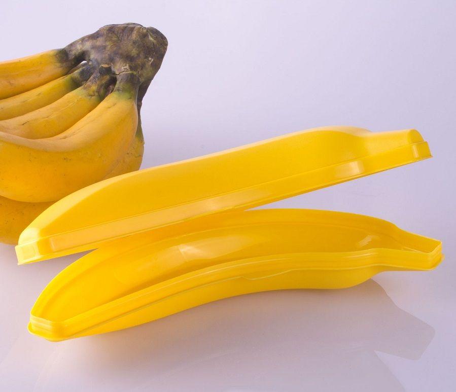 Porta-fruta no formato de banana