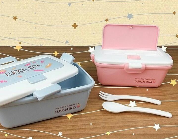 Pote Marmita Lunch Box - Rosa