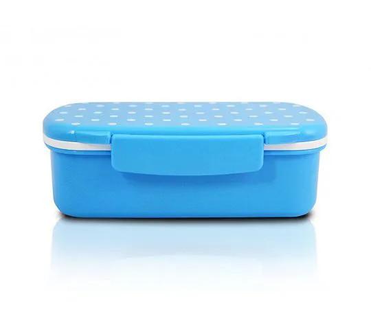 Pote Lancheira c/ divisórias - 450 ml - Azul