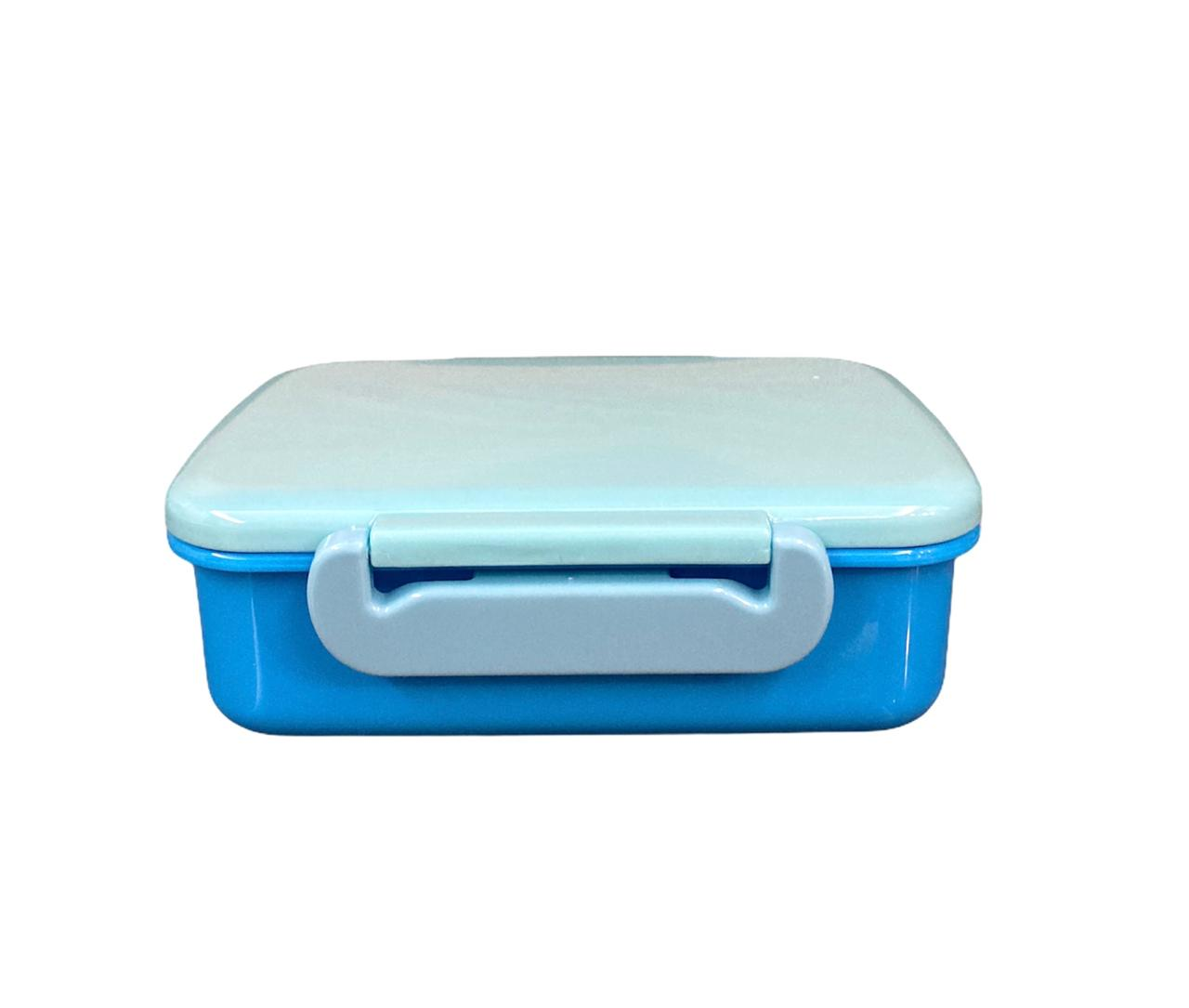 Potinho Lancheira/ Marmita Azul
