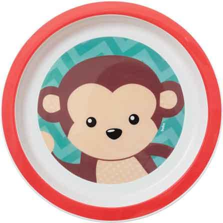 Prato Animal Fun Macaco