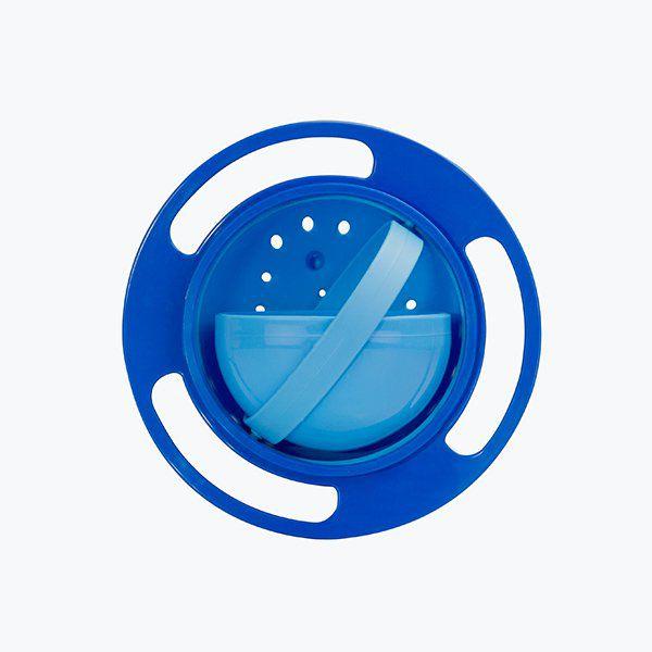 Prato Mágico giratório - azul