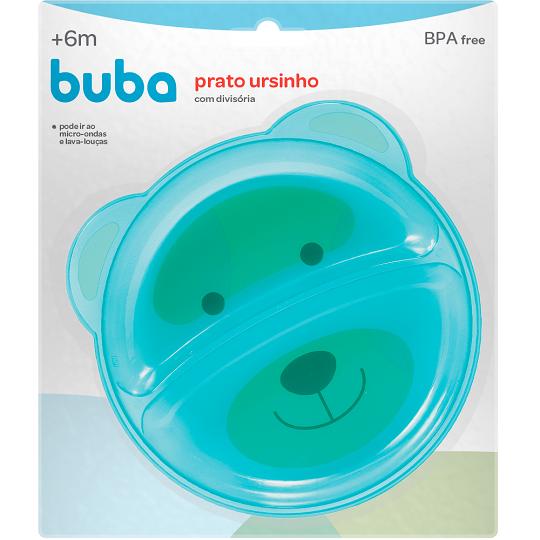 Prato Urso Azul c/ Divisória