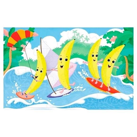 Quebra-cabeça Cheirinho de Fruta - Banana