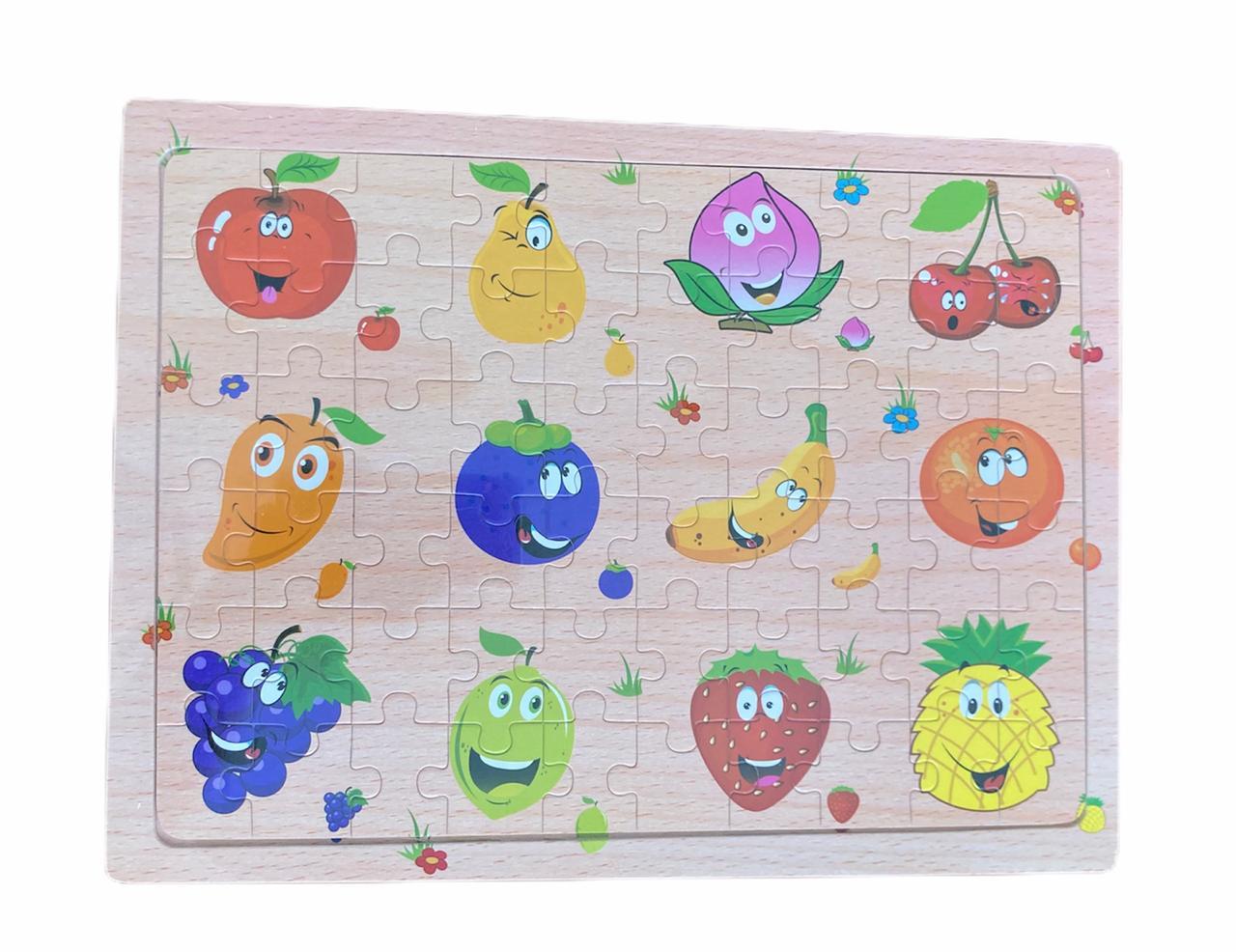 Quebra-cabeça Frutas