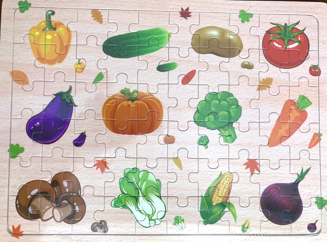 Quebra-cabeça Legumes