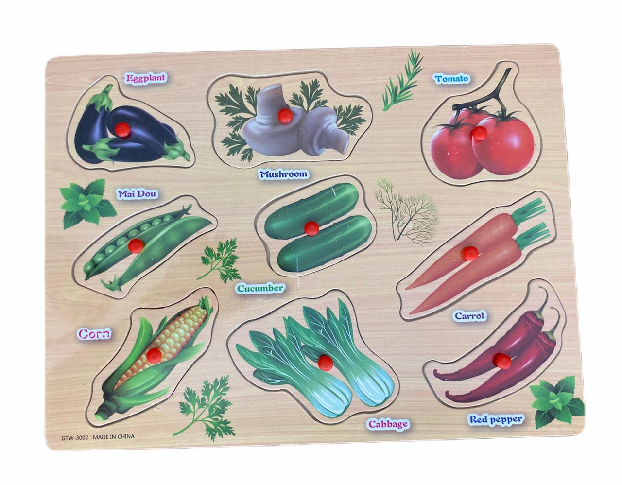 Tabuleiro Educativo Legumes
